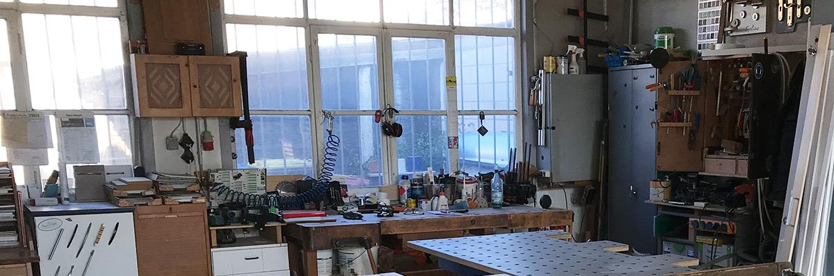 Abbildung der Werkstatt von Olaf Regenbrecht